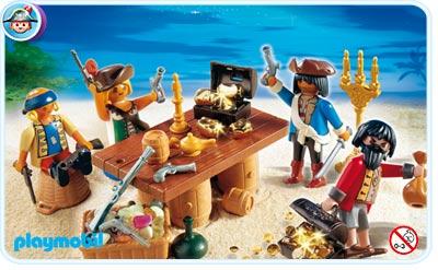 4292 Bande de pirates et leur butin
