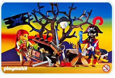 3858 Pirates - coffre au trésor