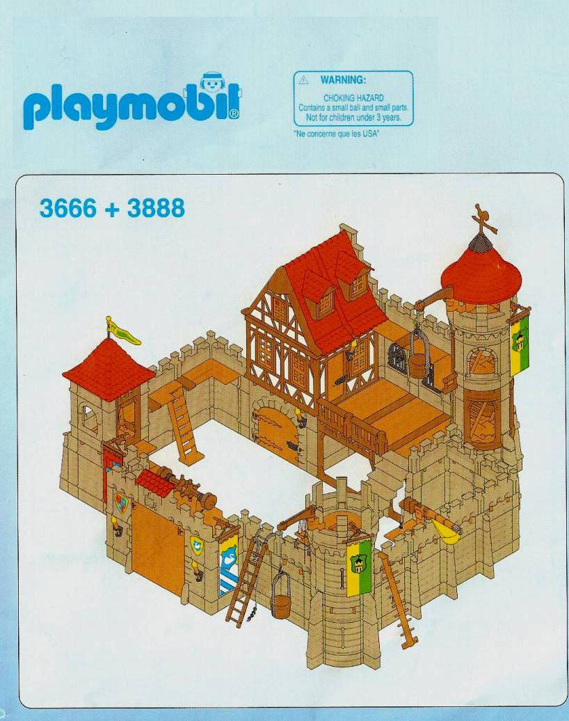 Chateaux forts for Plan chateau fort playmobil
