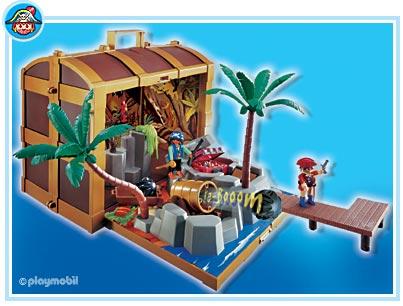 4432-5737 Coffre au trésor des pirates