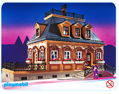 Plans playmobil page 7 for Maison traditionnelle 5301