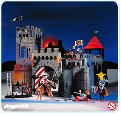 plan de montage ch teau fort playmobil. Black Bedroom Furniture Sets. Home Design Ideas